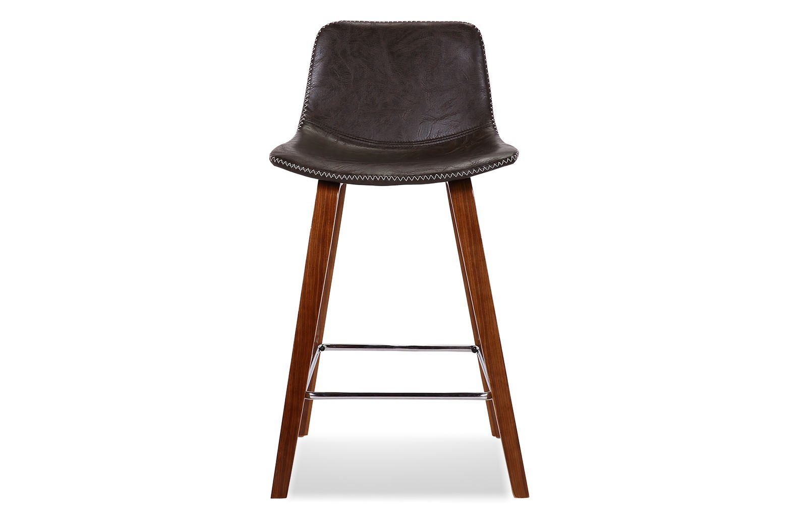 Полубарный стул JY1733-61 коричневый