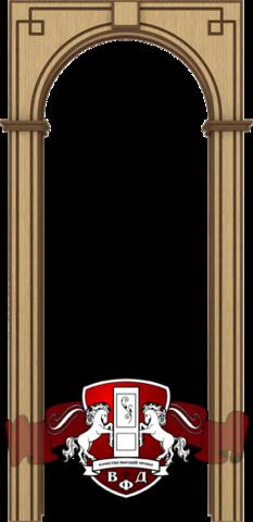 Арка Классика шпонированная (светлый дуб), фабрика Владимирская фабрика дверей