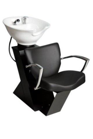 Парикмахерская мойка Дасти с креслом Луна