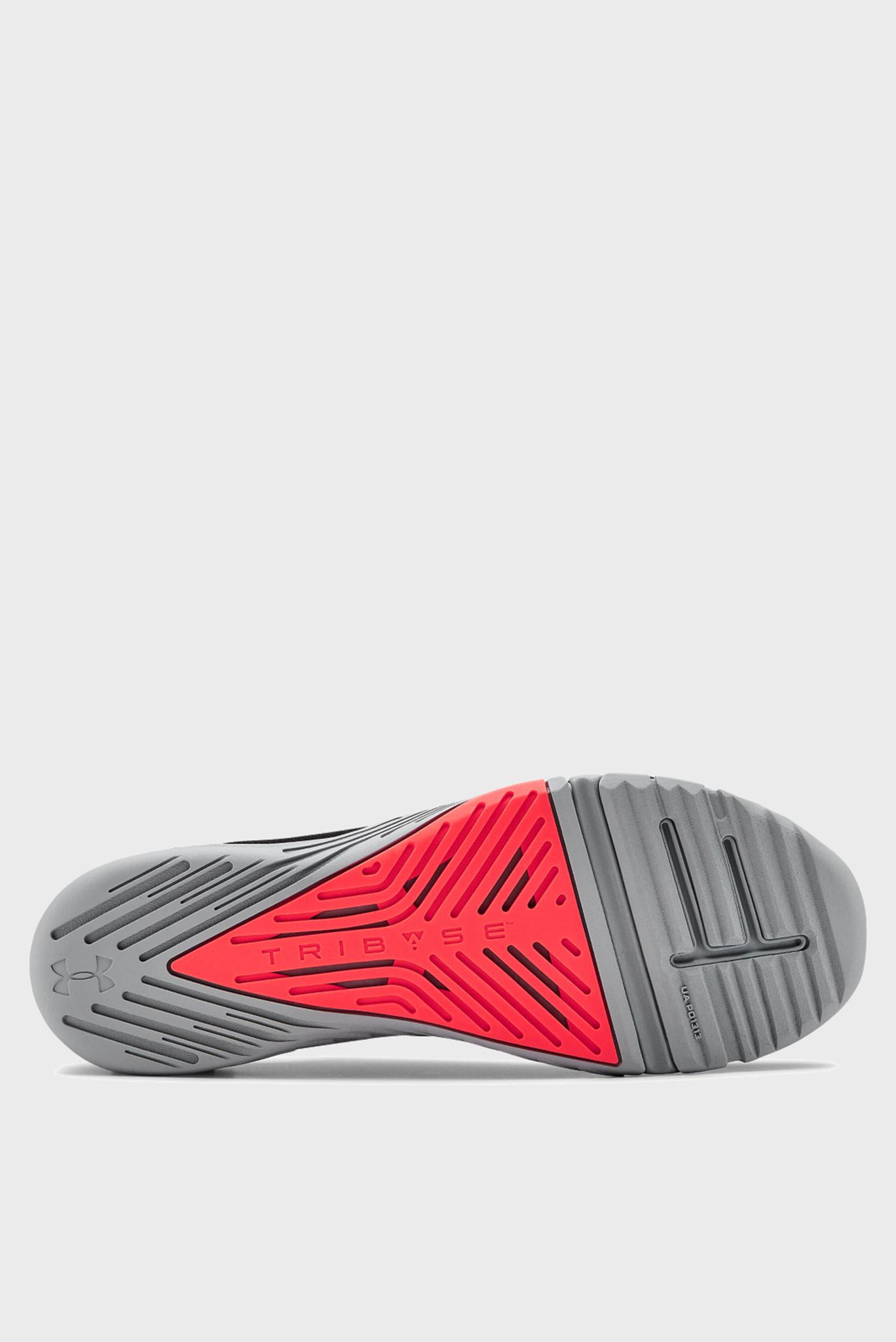 Мужские черные кроссовки UA TriBase Reign 2-BLK Under Armour