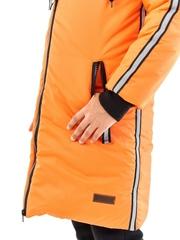 Пальто для девочки Спорт оранжевый