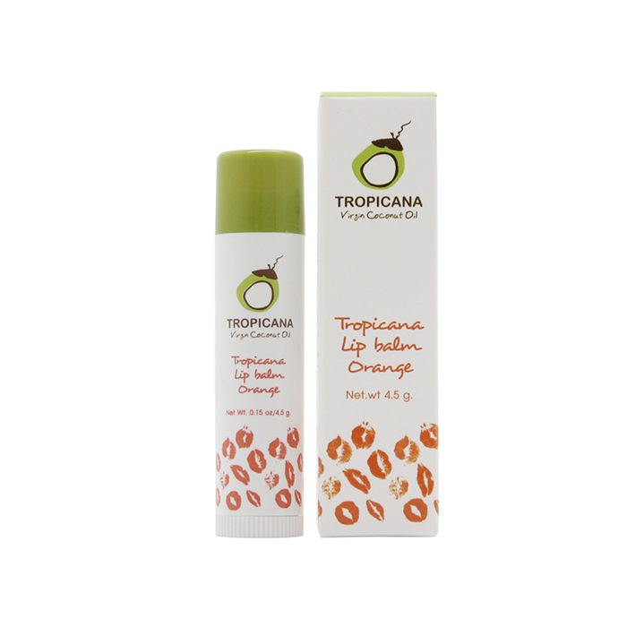 TROPICANA OIL Бальзам для губ «Orange», TROPICANA OIL, 4.5г tropicana-lip-balm-orange-4.5g.jpg