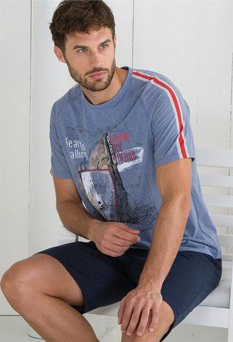 Пижама мужская с шортами Massana MP_211301