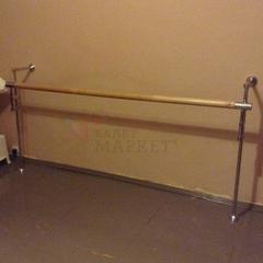 Станок хореографический СП2-1 однорядный стена + пол