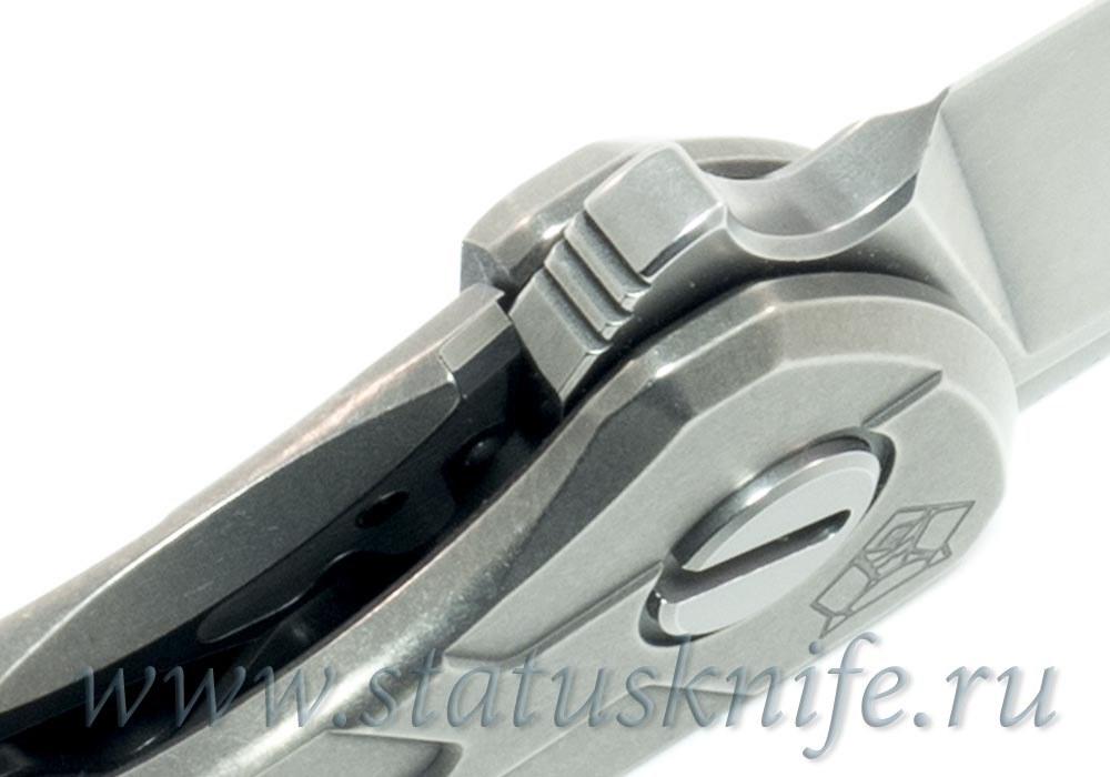 Нож Широгоров Flipper 95 R  T-узор М390 mrbs - фотография