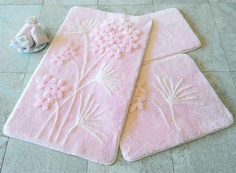 Комплект ковриков для ванной и туалета ORHID