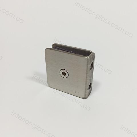 Соединитель стена-стекло HDL-721G SSS штампованный