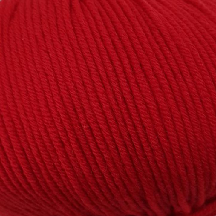 Пряжа Lana Gatto Maxi Soft 10095 ярко-красный