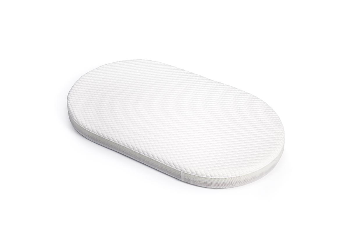 Овальный матрас для кроваток Sleepy 1230х740х80 беспружинный ПРЕМИУМ