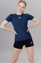 Элитная женская футболка Nordski Pro Blue W