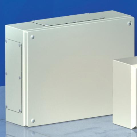 Сварной металлический корпус CDE, 600 x 200 x 120 мм, IP66