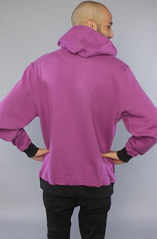 Толстовка фиолетовая на молнии фото 5