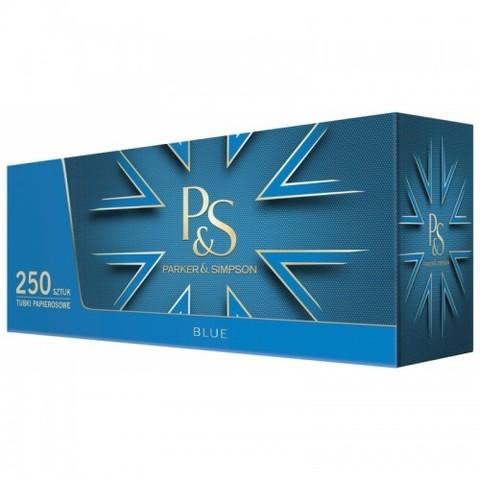 Сигаретные гильзы P & S Blue (синие) - 250 шт.