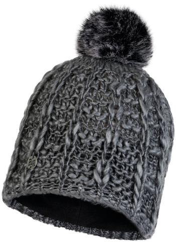 Шапка вязаная с флисом Buff Hat Knitted Polar Liv Pebble Grey фото 1