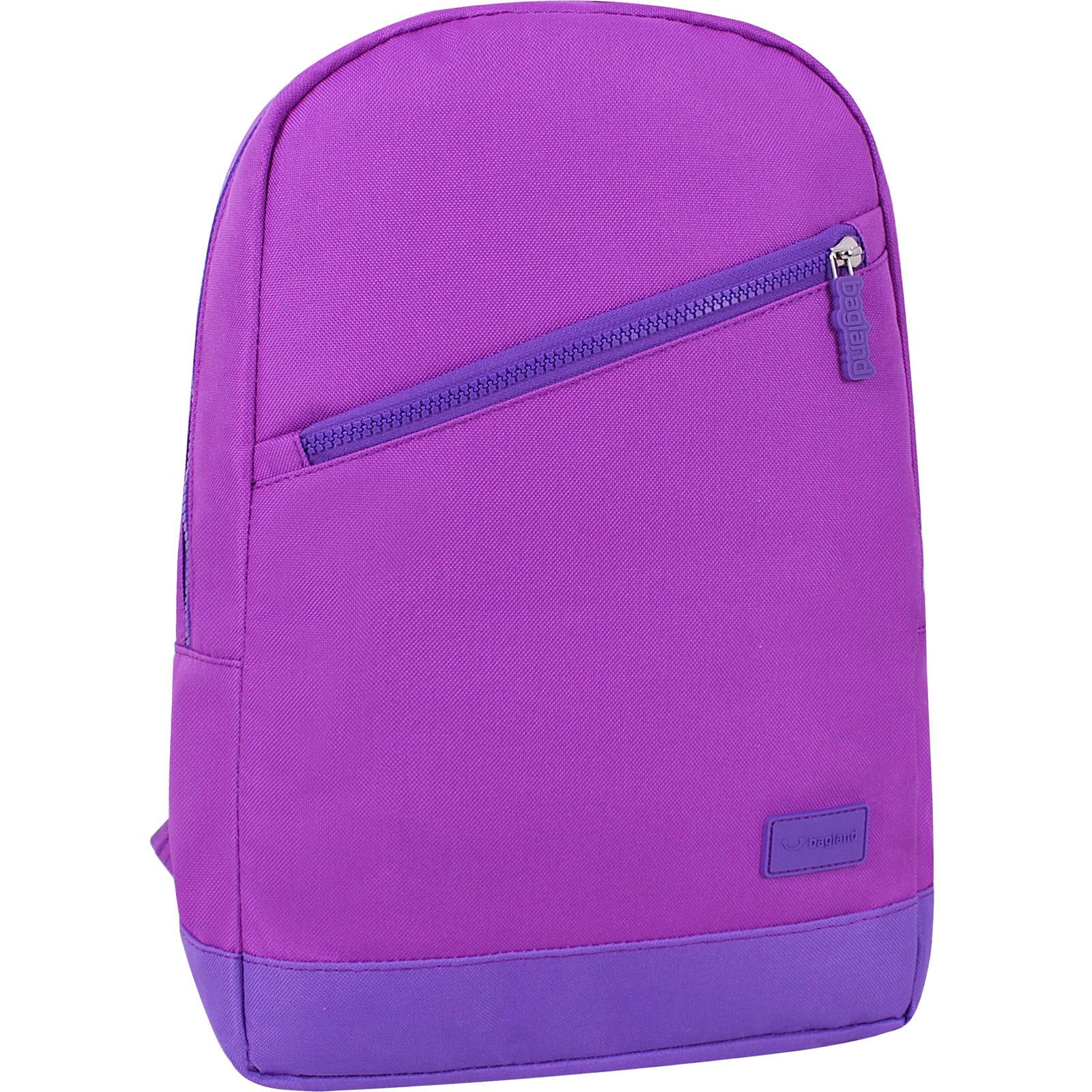 Рюкзак Bagland Amber 15 л. 339 фиолетовый/бузок (0010466) фото 1