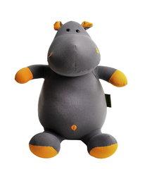 Подушка-игрушка антистресс Gekoko «Бегемот Няша», оранжевый 2