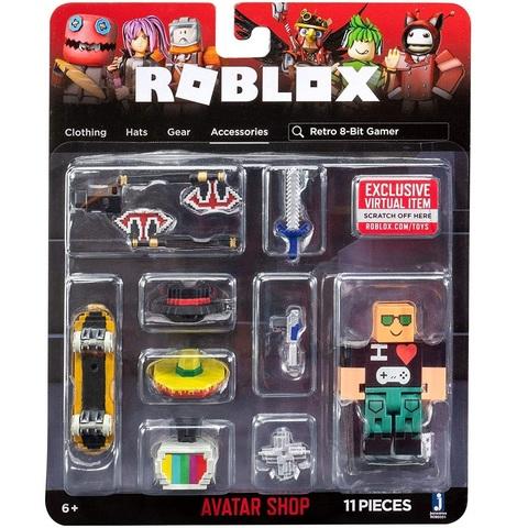 Роблокс Серия Магазин Аватаров Ретро 8-битный Геймер