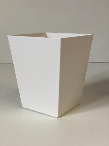 Коробка Трапеция  б/ручки Белая