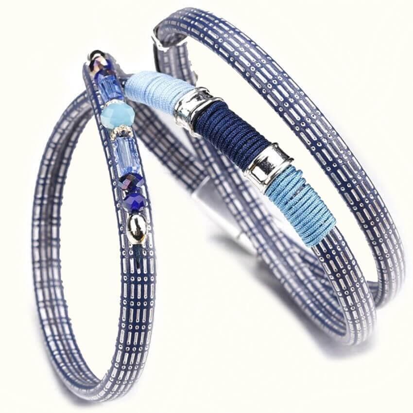 Браслет женский Boho Silver Crystal -E190039