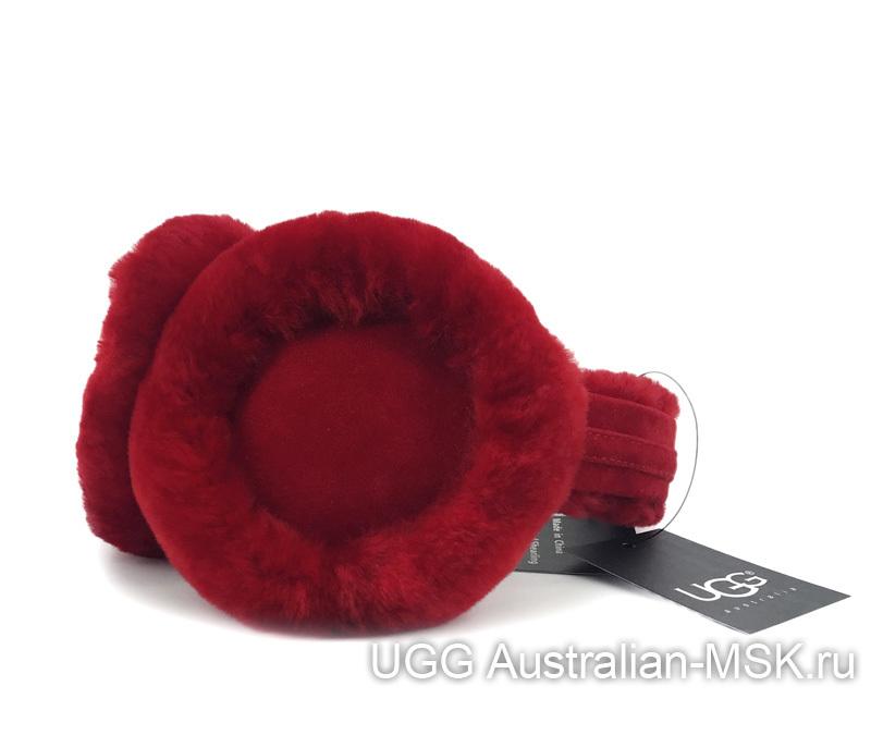 Hаушники UGG Earmuff Red