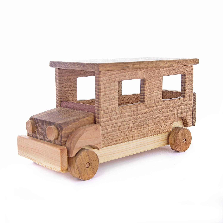 Деревянная игрушка  Автобус