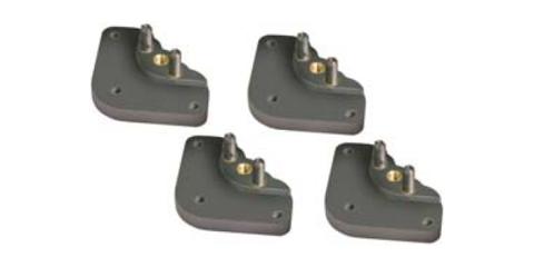 Опора для регулировки высоты пластины для крепления фрезера 4 шт.