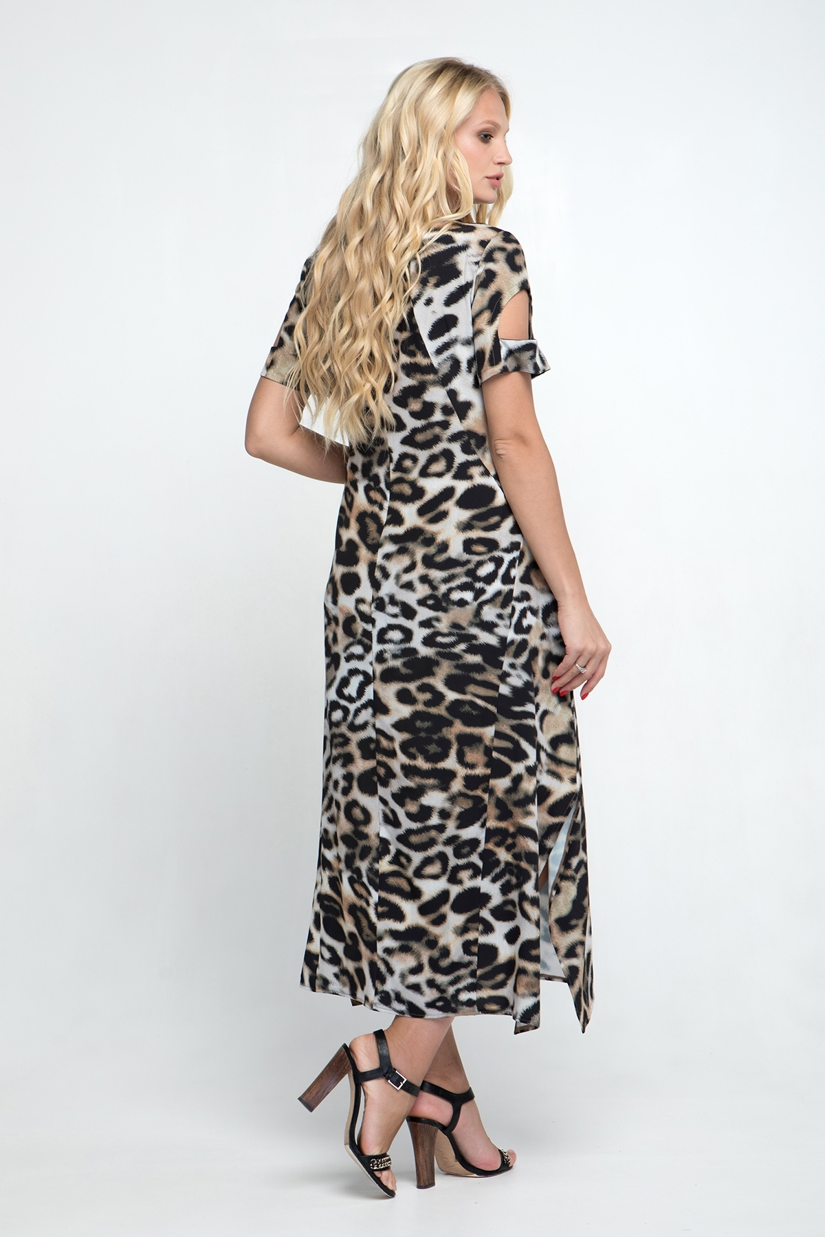 Платье Сакура (леопард)