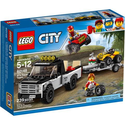 LEGO City: Гоночная команда 60148 — ATV Race Team — Лего Сити Город