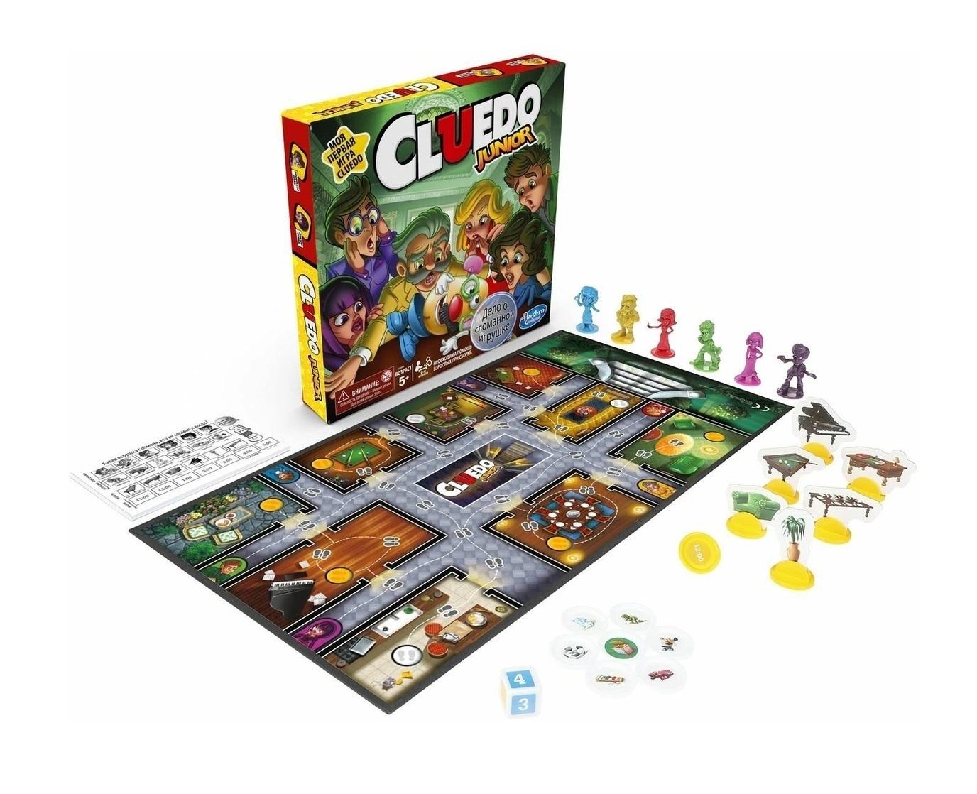 Настольная игра Cluedo Junior (Клуэдо Детская)