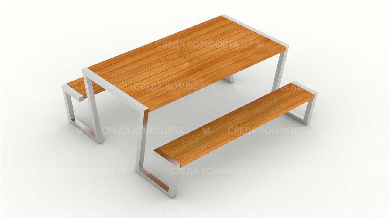 Скамейка со столом SCAM0251