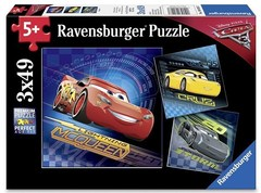 Puzzle C3: WT Cars3 3x49