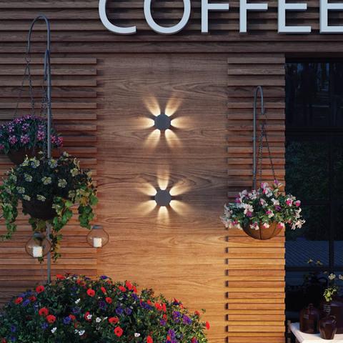 Уличный настенный светодиодный светильник 358463 серии CALLE