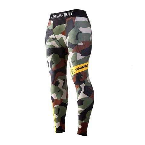 Athletic Camo Black Green