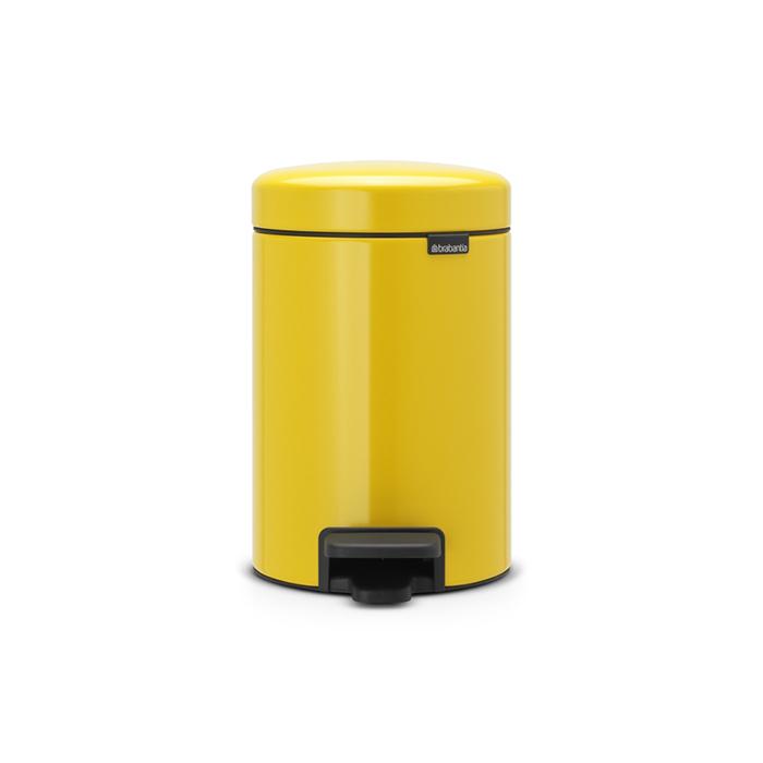 Мусорный бак newicon (3 л), Желтая маргаритка, арт. 113123 - фото 1