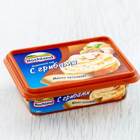 Сыр плавл HOCHLAND Грибы 200 гр ванн РОССИЯ