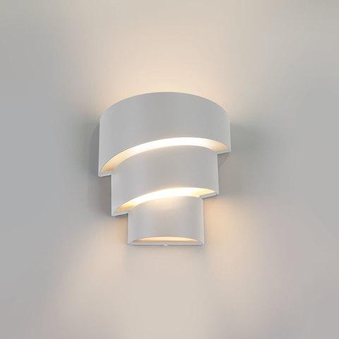 Helix белый уличный настенный светодиодный светильник 1535 TECHNO LED
