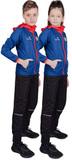 Детский беговой костюм Nordski Run Patriot
