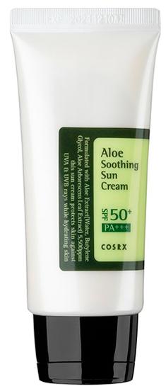 COSRX Aloe Soothing Sun Cream крем солнцезащитный SPF50+PA +++ 50мл