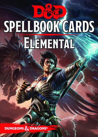 D&D Next: Spellbook Cards (Elemental)