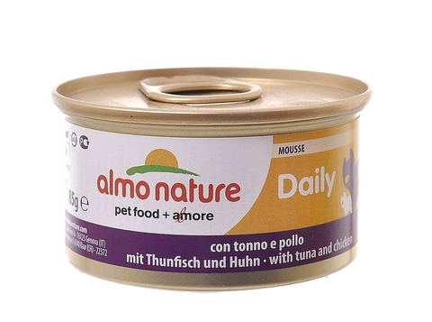 Консервы (банка) Almo Nature Daily Menu mousse Tuna and Chicken