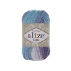 3677 (Белый,лиловый,фиолет,бирюза)