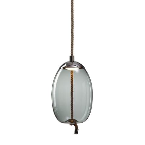 Подвесной светильник копия Knot Uovo by Brokis (дымчатый)