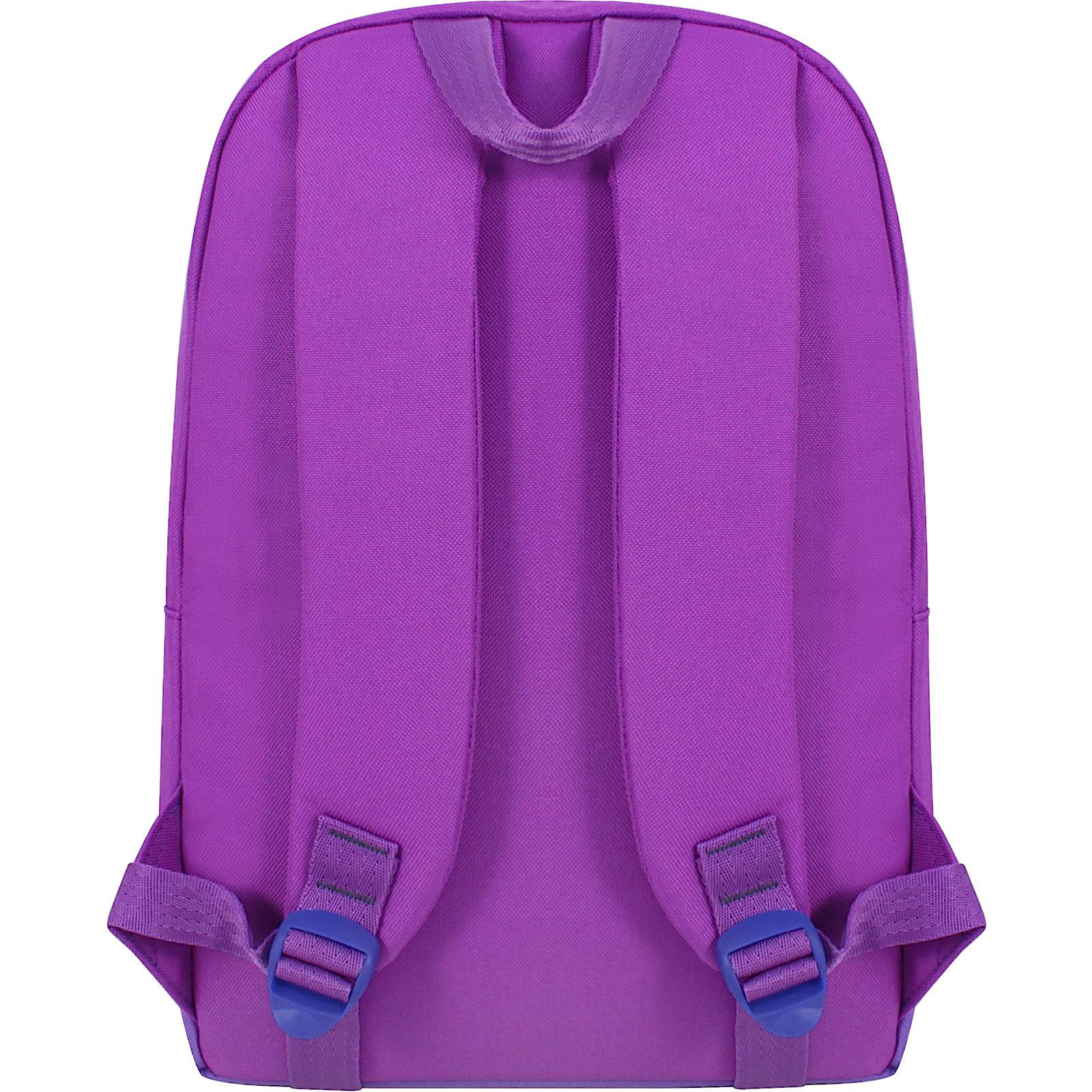 Рюкзак Bagland Amber 15 л. 339 фиолетовый/бузок (0010466) фото 3