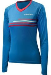 Рубашка женская беговая Noname Running LS Shirt 18 WO'S blue-red