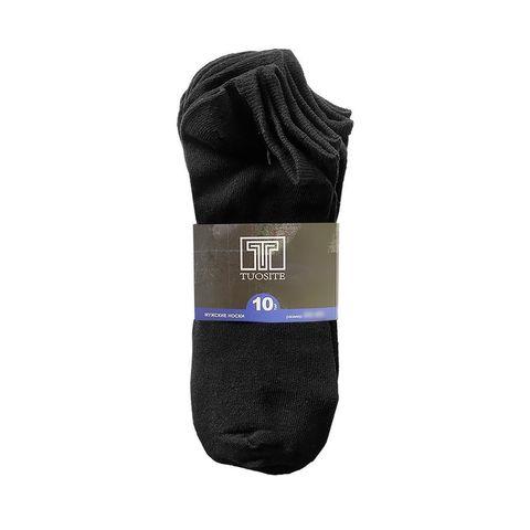 Носки мужские черные - набор из 10 пар TUOSITE TSS807-2