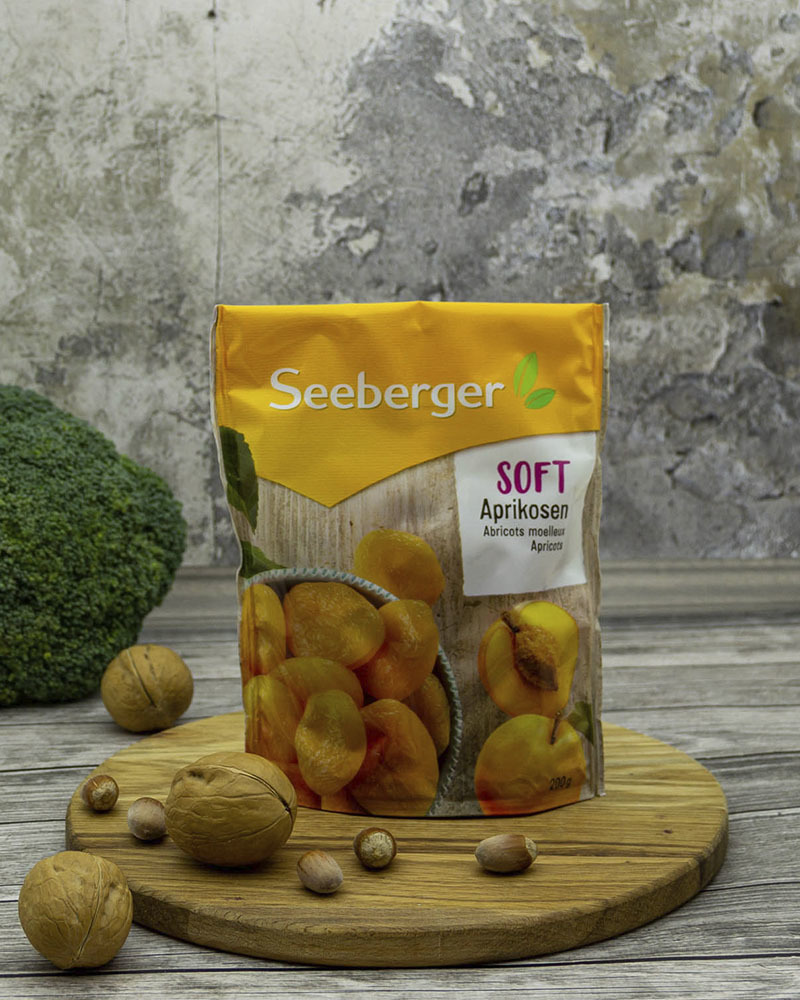 Мягкие абрикосы Seeberger 200 гр.