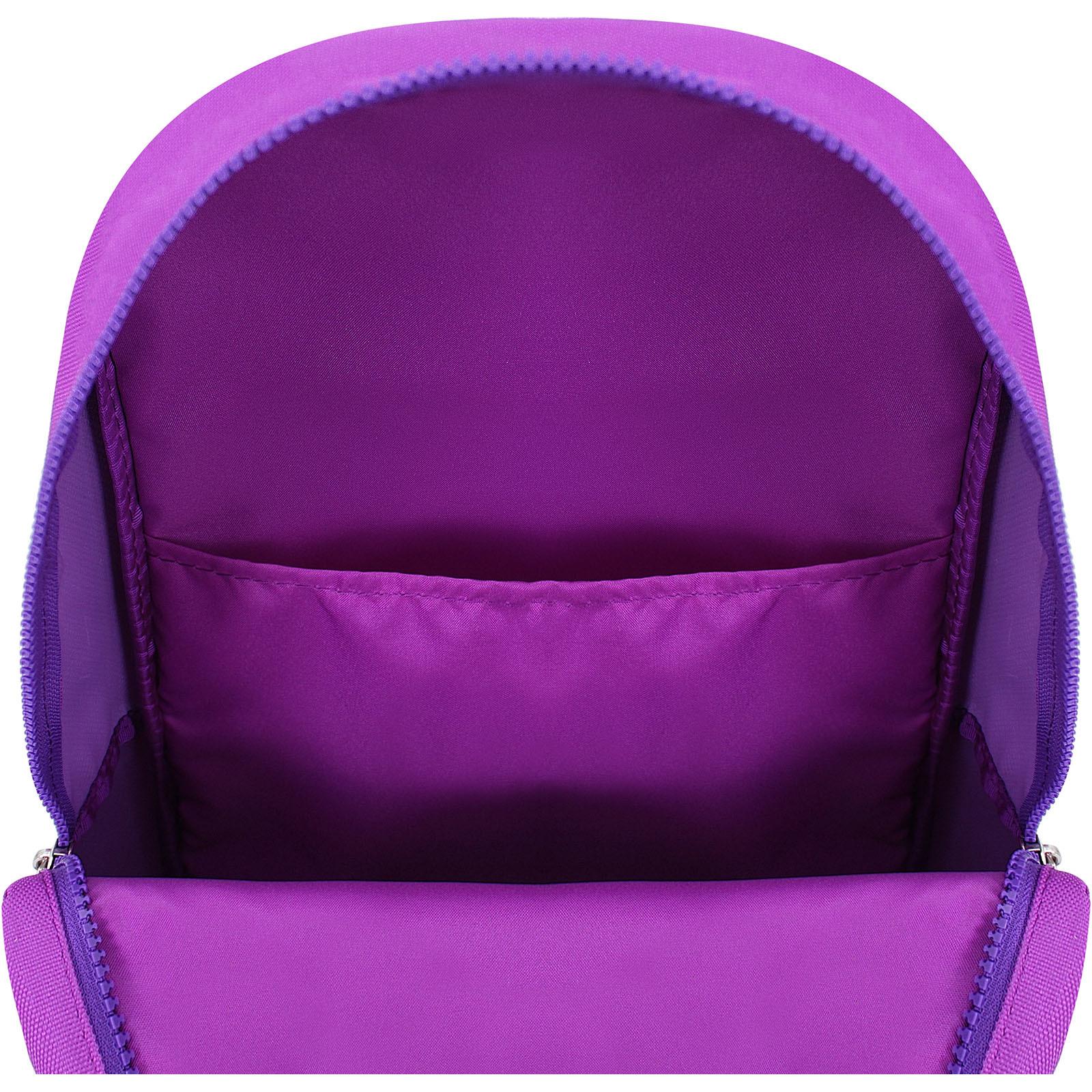 Рюкзак Bagland Amber 15 л. 339 фиолетовый/бузок (0010466) фото 4