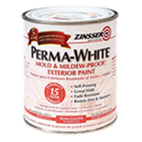 ZINSSER Perma-White Exterior Paint краска фасадная самогрунтующаяся