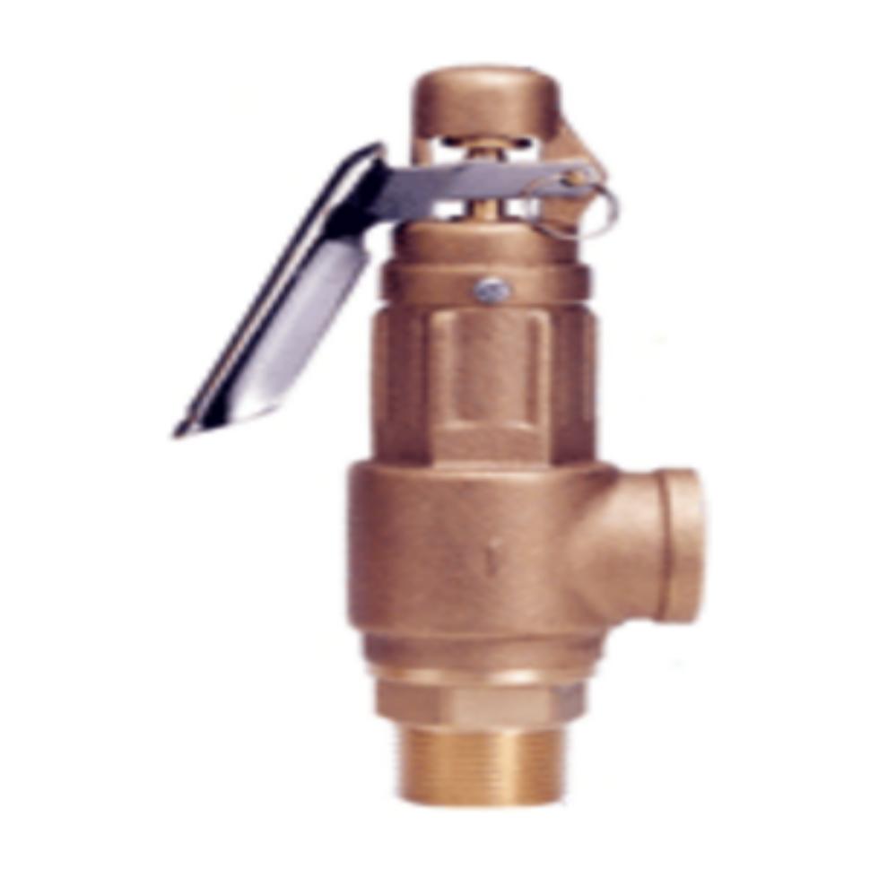 N3-0-1A-A  Клапан предохранительный, бронза, 1/2NPT, 0,2 - 2. бар