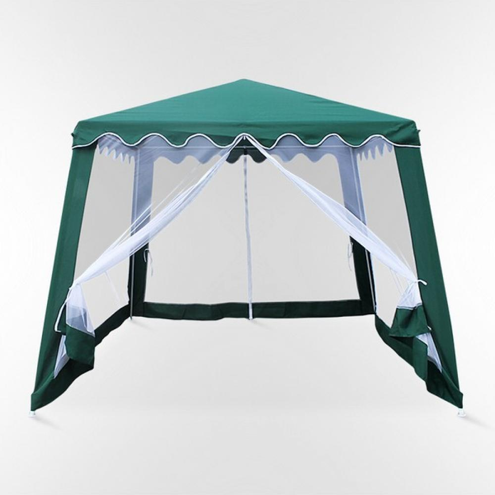 Садовые шатры Садовый шатер AFM-1036NA Green (3x3/2.4x2.4) afm-1036na-green-3x3-2-4x2-4-1000x1000.jpg